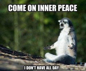 Hey- Where's my inner peace? @ Maitreya Kadampa Buddhist Center | Atlantic Beach | Florida | United States
