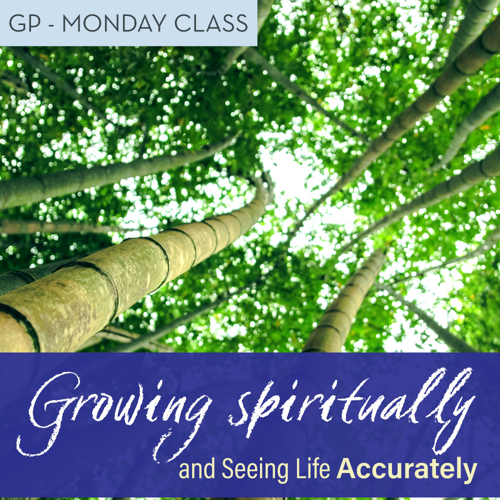 Monday: Growing Spiritually, seeing accurately @ ONLINE EVENT | Atlantic Beach | Florida | United States