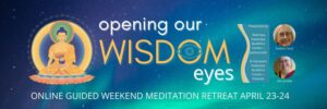 Weekend Retreat ONLINE: Opening our Wisdom Eyes @ online