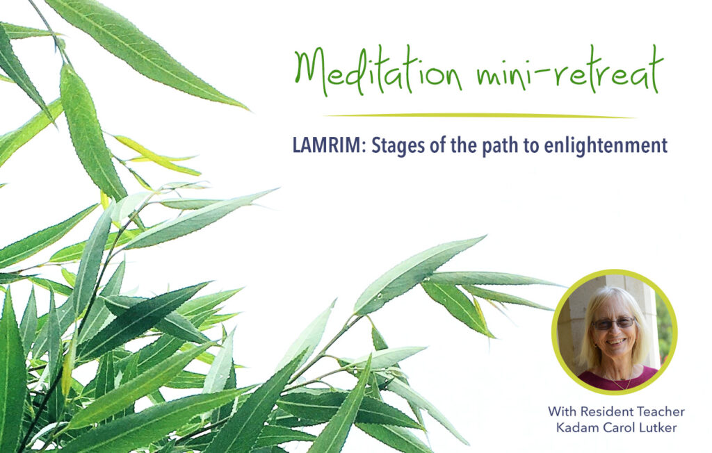 Meditation Retreat: Initial Stages of the Path @ online