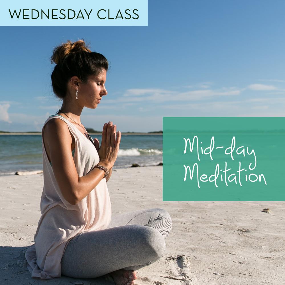 Mid-day Meditations @ ONLINE